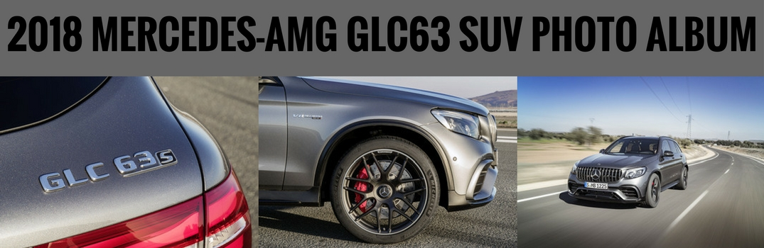 The New Mercedes-AMG GLC63 SUV Photo Album