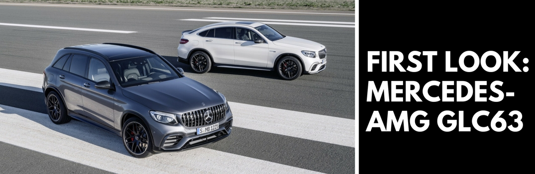 Mercedes-AMG Releases Information on the New GLC63 SUV, GLC63 Coupe and GLC63 S Coupe
