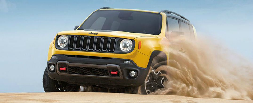 2015 jeep renegade in yellow