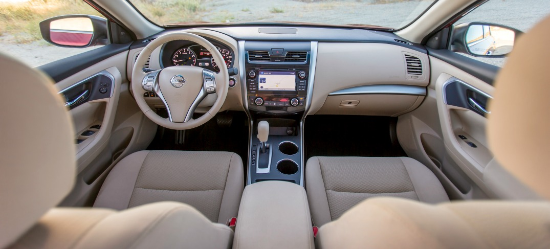 clothe seats of the nissan altima
