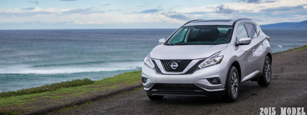 front exterior of 2015 nissan murano