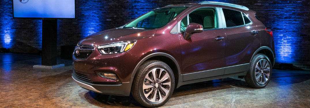 2017 Buick Encore new technology