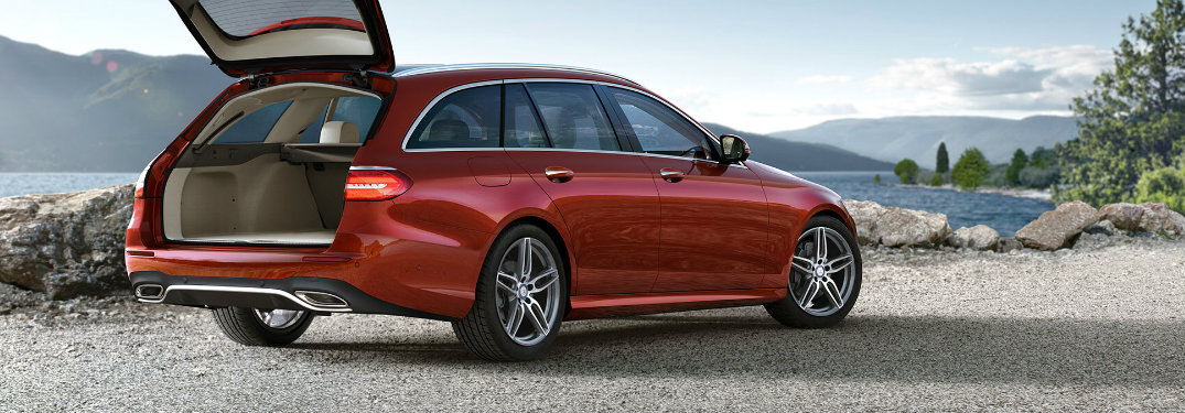 How much can you fit in a Mercedes-Benz E-Class?