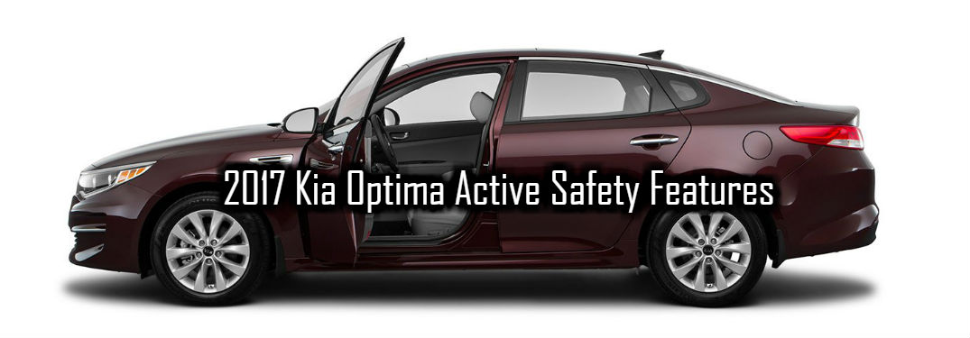 2017 Kia Optima Active Safety Technologies and Features