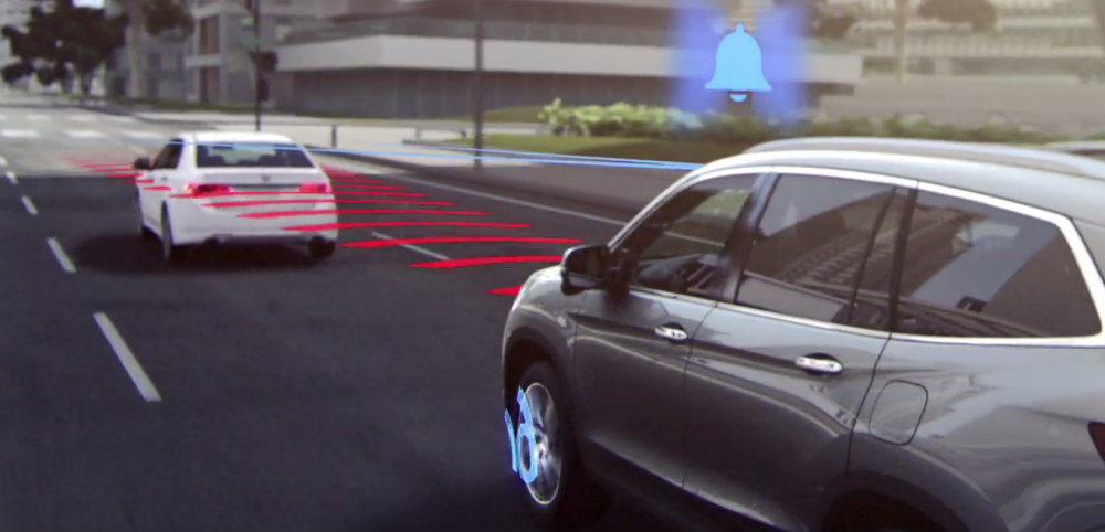 Honda Collision Mitigation Braking System (CMBS™)