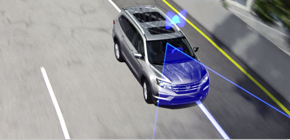 Lane Departure Warning (LDW) integrated with Road Departure Mitigation (RDM)