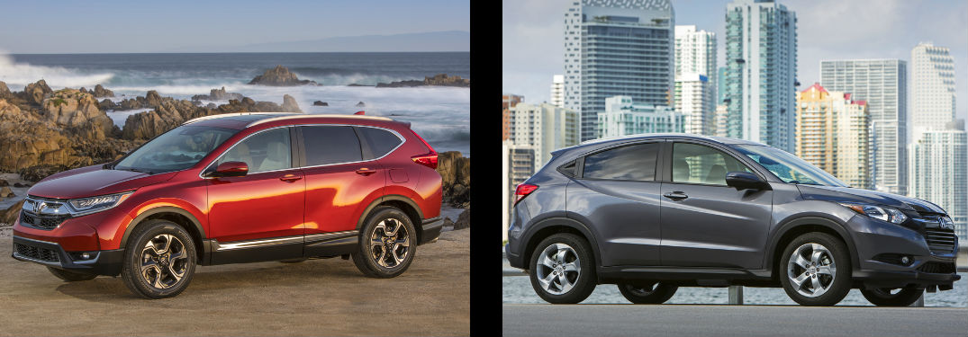 2017 Honda CR-V vs 2017 Honda HR-V