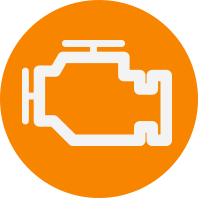 orange engine icon