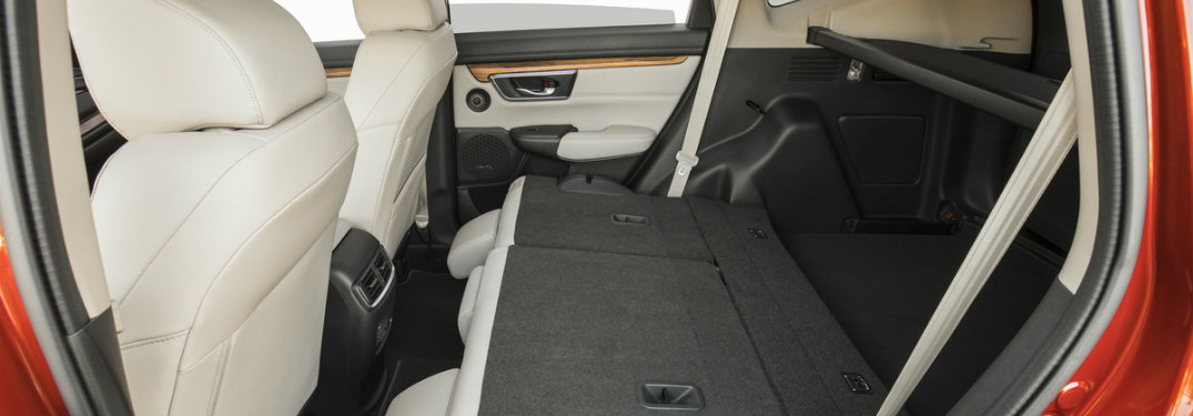 How much cargo can fit in the 2017 Honda CR-V?