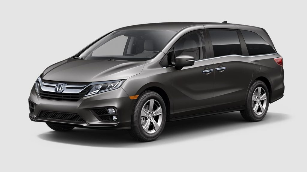 2018 honda odyssey with the pacific pewter exterior color for Honda odyssey 2018 mocha interior