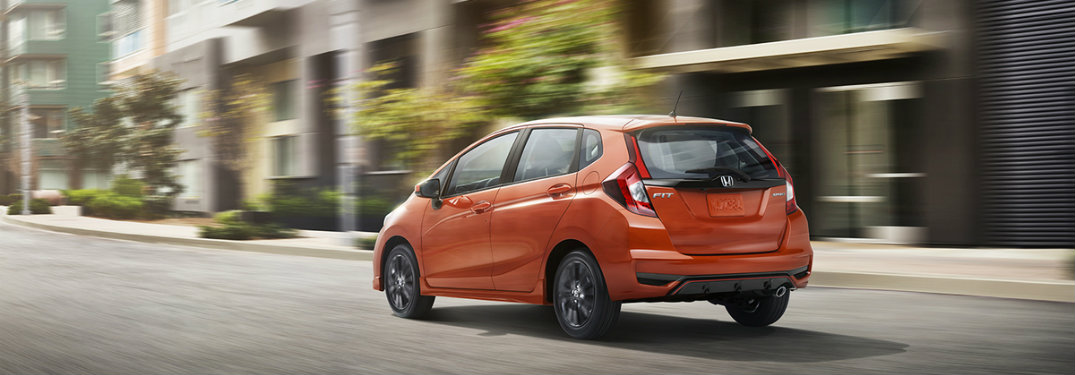 What's New on the 2018 Honda Fit?