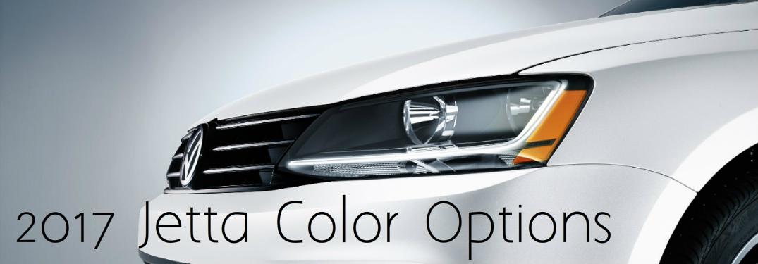 2017 Jetta Color Options