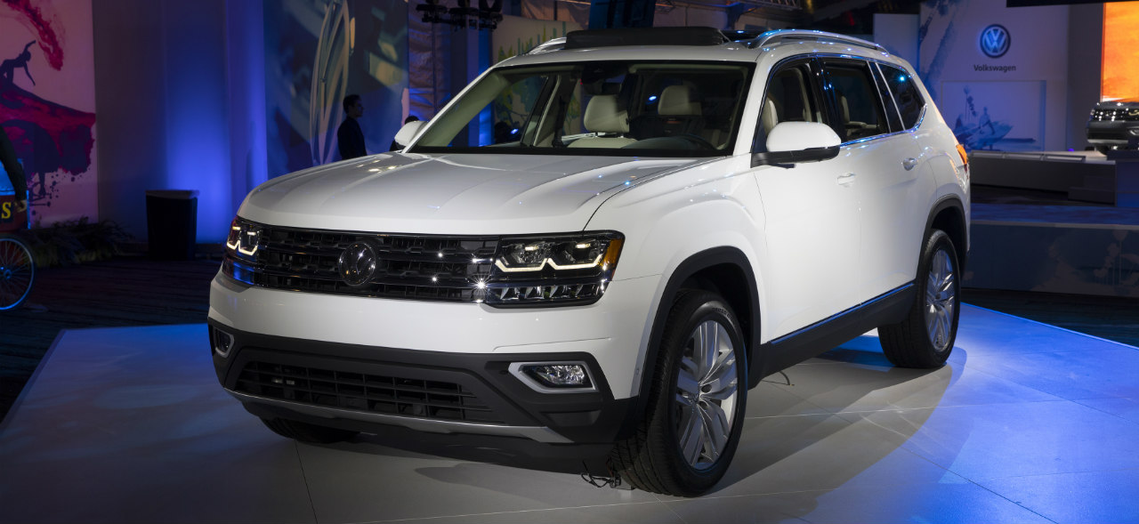 2018 volkswagen atlas release date. Black Bedroom Furniture Sets. Home Design Ideas