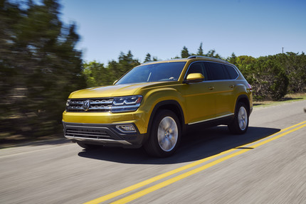 2018 VW Atlas Trim Pricing and Standard Features