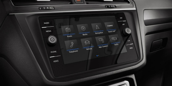 2018 Volkswagen Tiguan Trim Level Comparison Touchscreen Navigation