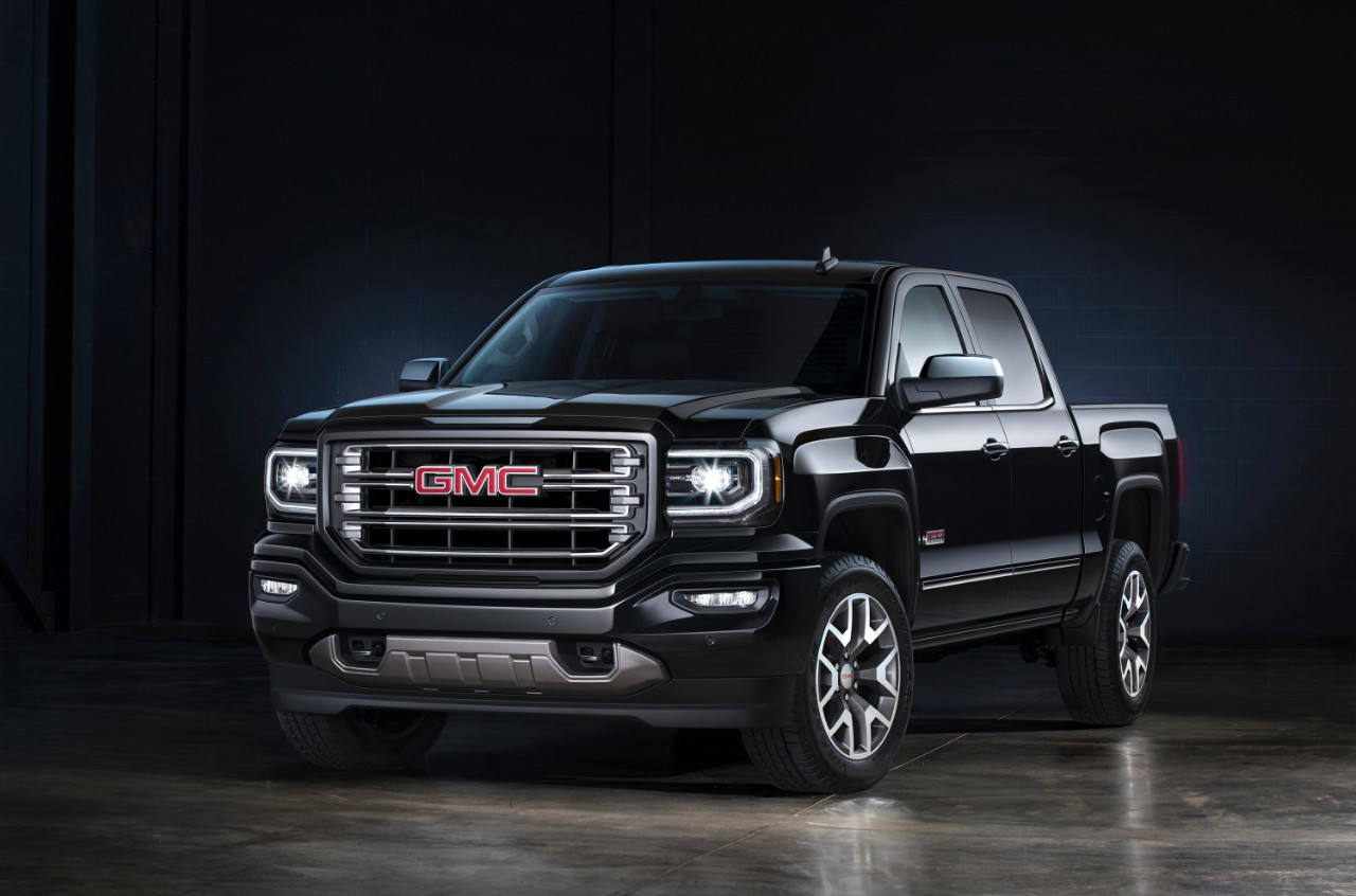 what 39 s new in the 2016 gmc sierra 1500. Black Bedroom Furniture Sets. Home Design Ideas