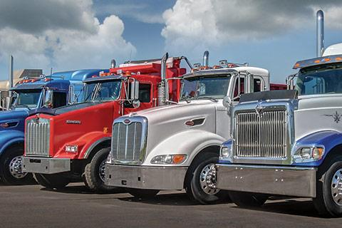 used-truck-lineup