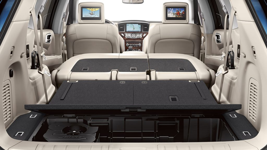 ... 2016 Nissan Pathfinder Cargo Space