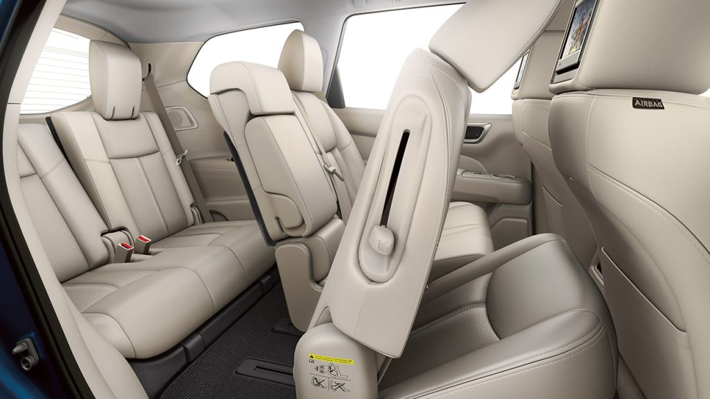 2016 Nissan Pathfinder Interior Space Vs 2016 Nissan Murano Interior Space