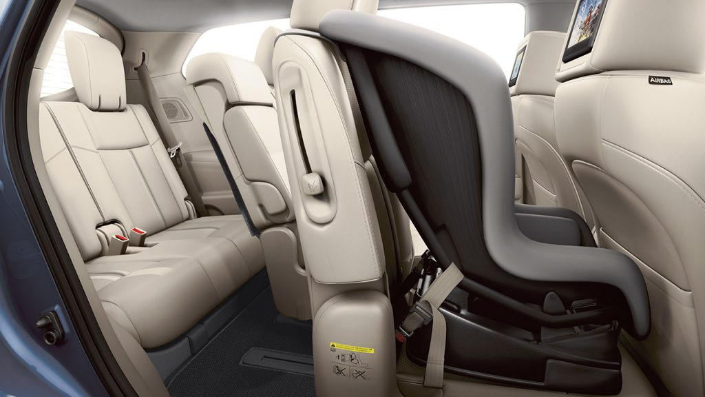 How to adjust the seats in a 2016 Nissan Pathfinder
