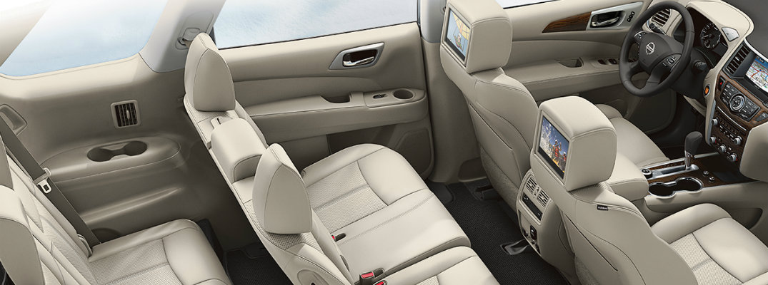 Does the 2017 Nissan Pathfinder have leather seats?