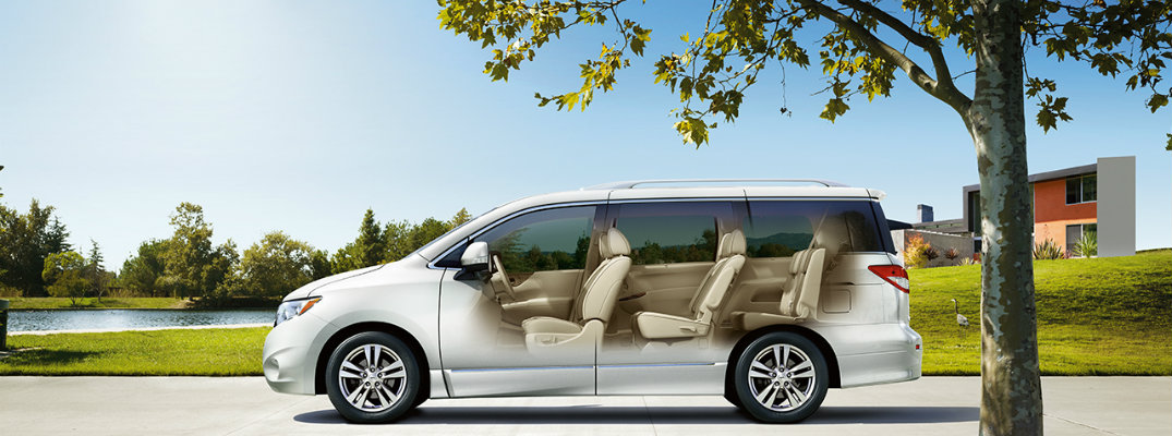 How much space is in the 2017 Nissan Quest?
