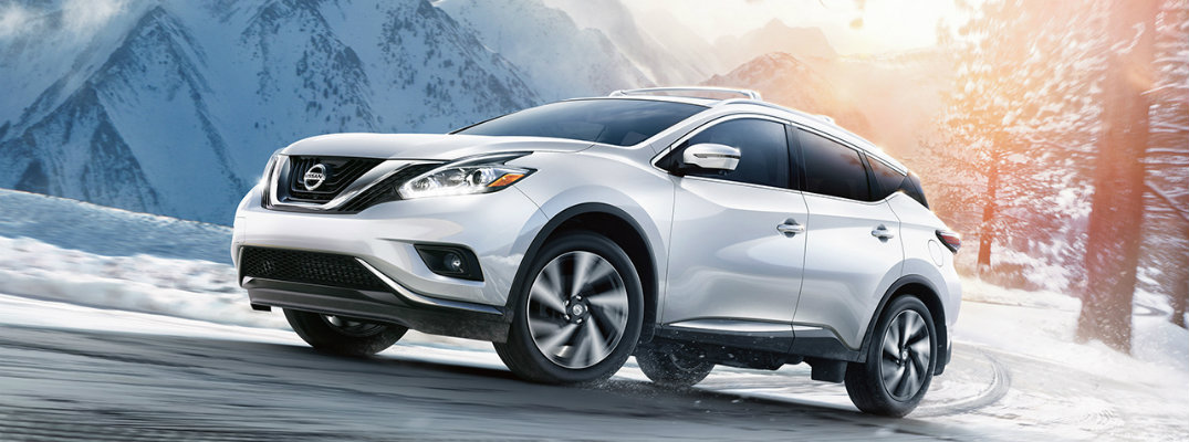 2017 Nissan Murano cargo and passenger space