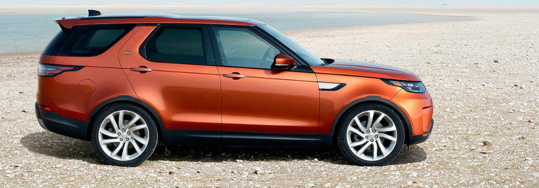 2017 Land Rover Discovery Trim Level Information