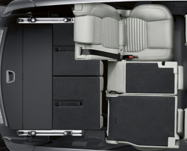 2017 Nissan Armada Configurations >> how much cargo can fit in the 2017 land rover discovery sport