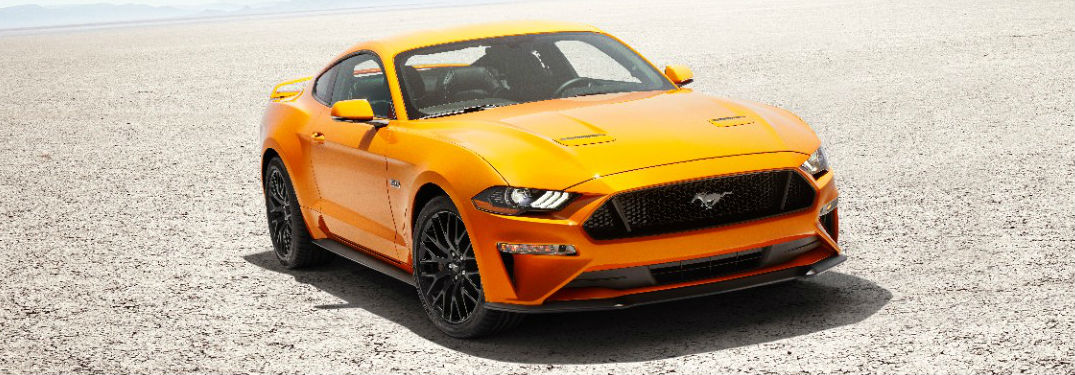 Whats new on the 2018 Ford Mustang