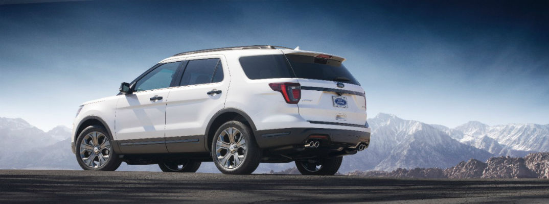 What's new on the 2018 Ford Explorer?