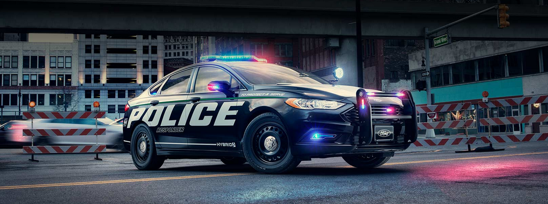 Are police using Ford Fusion Hybrids now?
