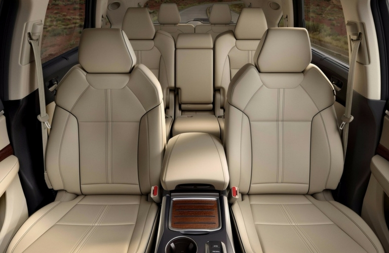 How Many Passengers Does The Acura MDX Seat - Acura mdx seats