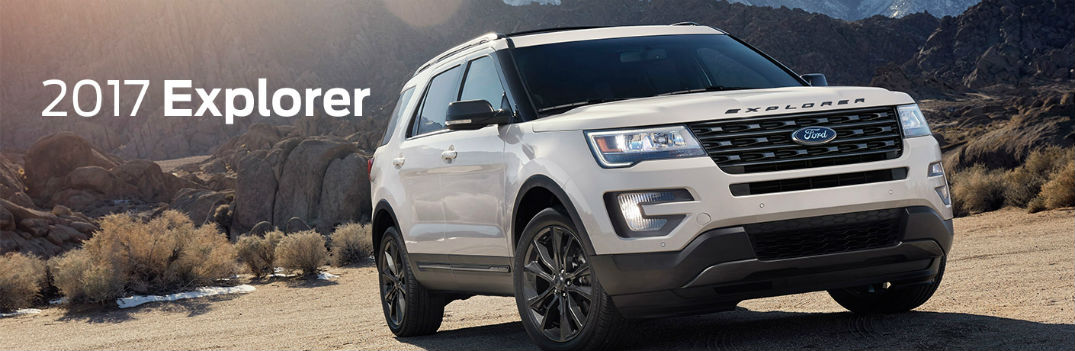 2017 Ford Explorer Engine Options and Fuel Economy Rating