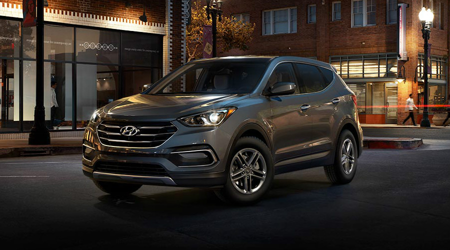 Color Options For The 2018 Hyundai Santa Fe Sport