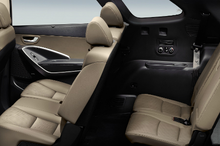 how much cargo space does the 2018 hyundai santa fe have. Black Bedroom Furniture Sets. Home Design Ideas