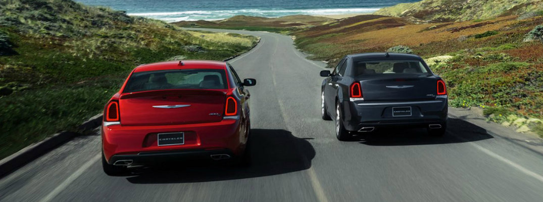 2017 Chrysler 300 available exterior colour options