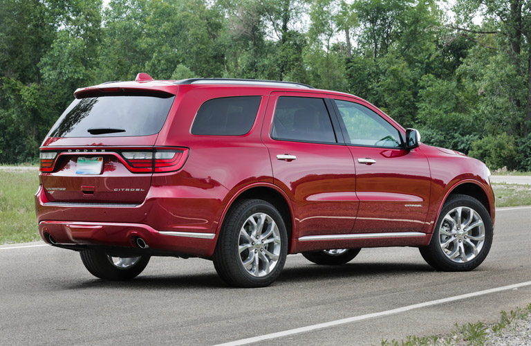 2017 Dodge Durango Towing Capacity And Interior Features