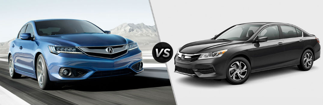 How does the Acura ILX compare to the Honda Accord?