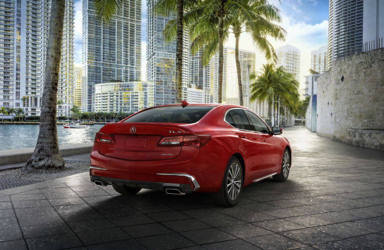 What's new with the Acura TLX?