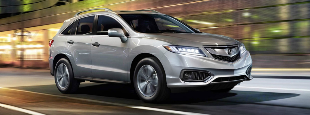 Technological Features on the 2017 Acura RDX Exterior