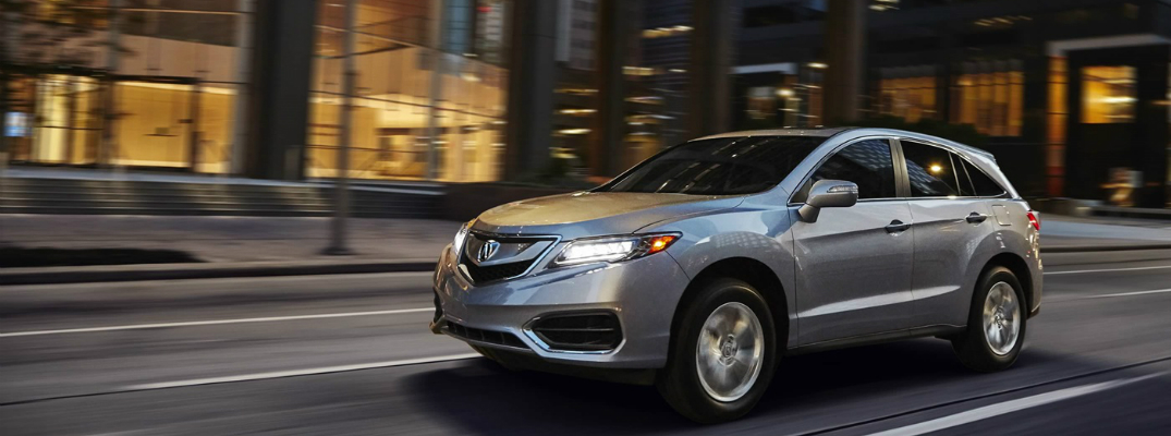 Interior Cargo Space in the 2018 Acura RDX Exterior