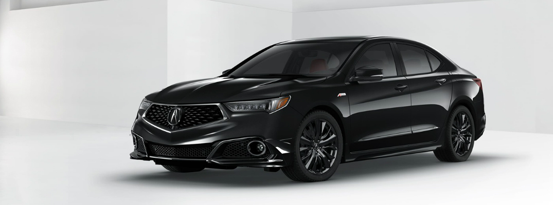 Engine Options on the 2018 Acura TLX Exterior