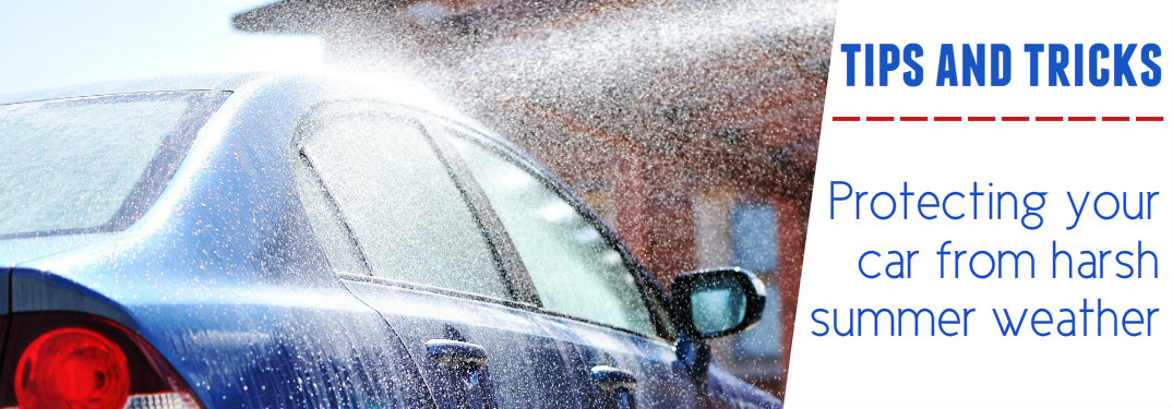 How to protect your car from heat in summer
