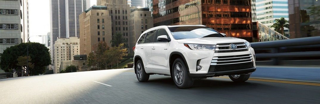 2017 Toyota Highlander Color Choices