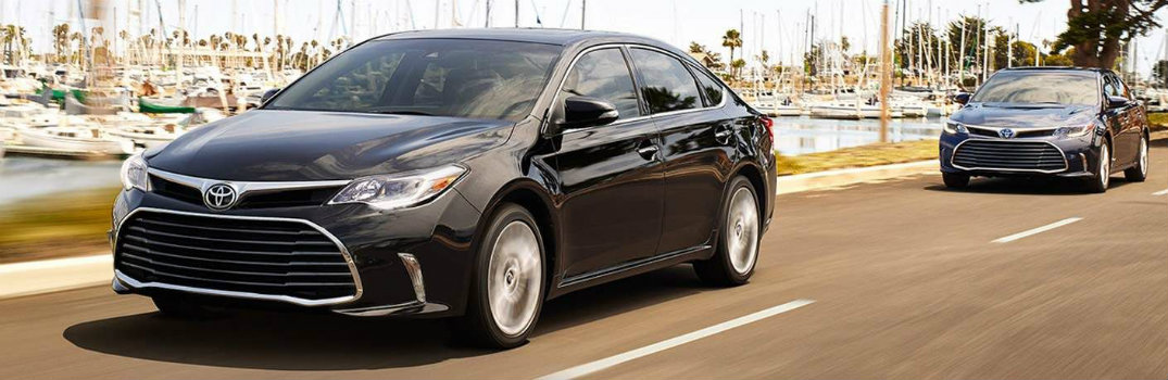 How Much Does the 2018 Toyota Avalon Cost?