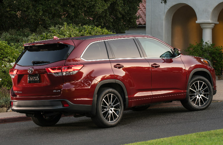 2017 Toyota Highlander Aerodynamic Design