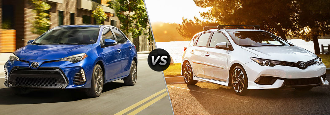Differences between corolla and corolla im