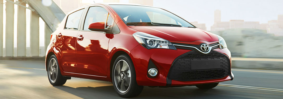 2017 toyota yaris performance and technology features. Black Bedroom Furniture Sets. Home Design Ideas