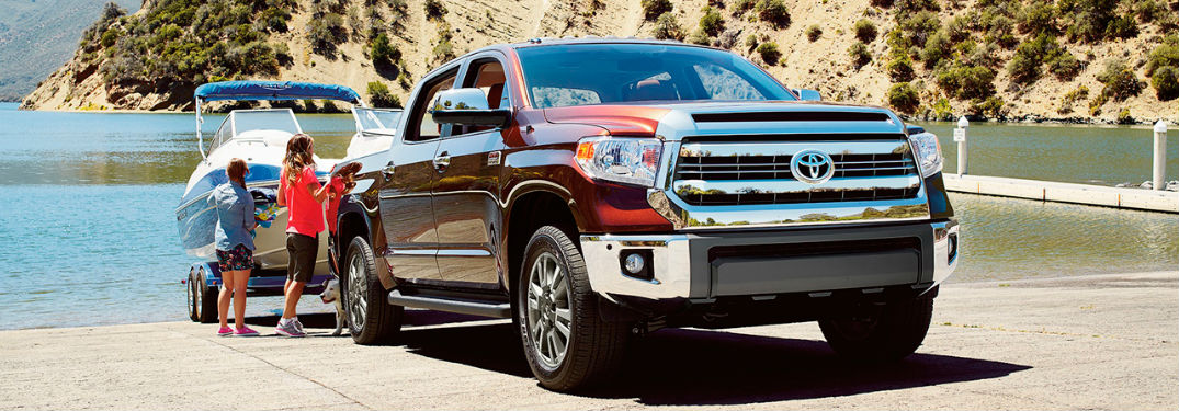 2017 Toyota Tundra Engine Specs and Driving Range